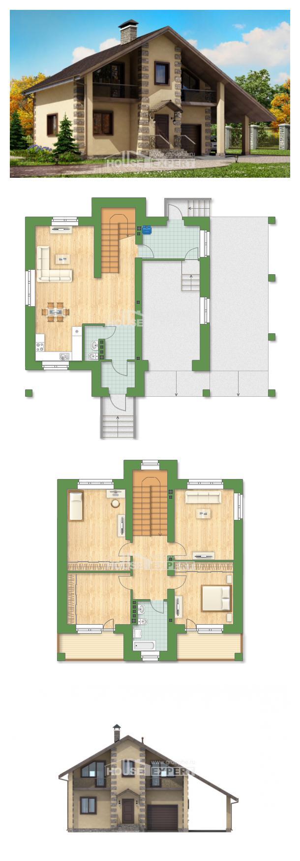 Проект дома 150-003-П   House Expert
