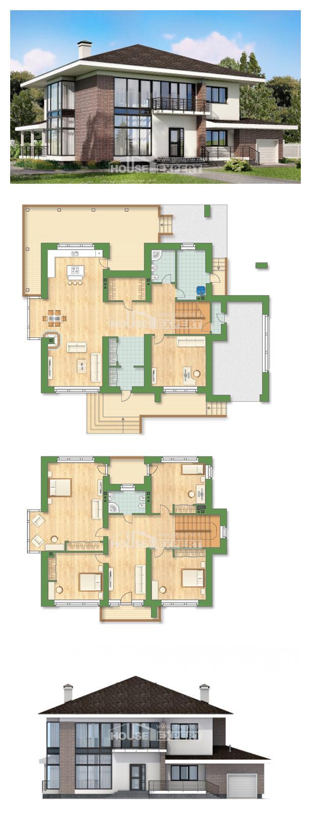 Проект дома 275-002-П | House Expert