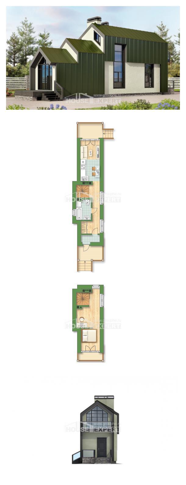 Проект дома 060-006-Л   House Expert