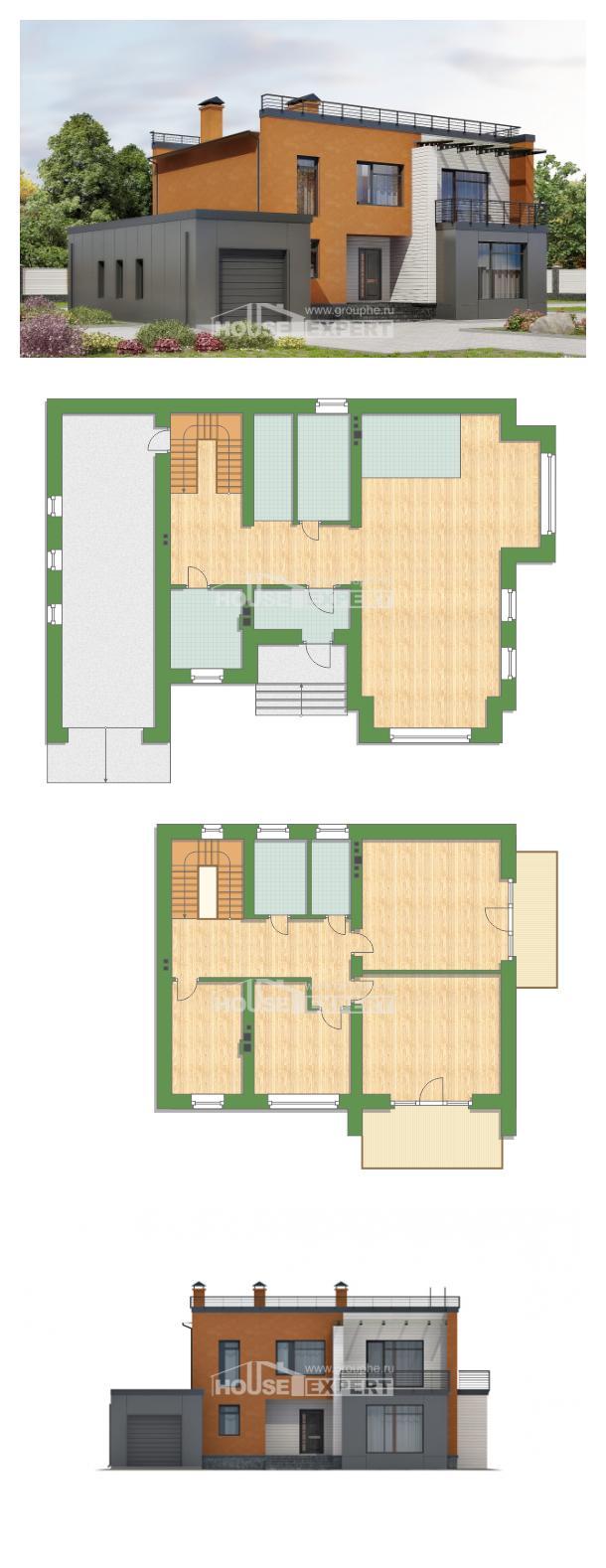 Проект дома 260-002-Л | House Expert